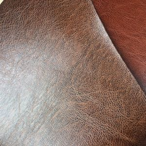 Soft Eco Friendly PU Leather for Making Accent Furniture pictures & photos