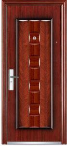 Commercial Residential Double Leaf Steel Door Price (steel door price) pictures & photos