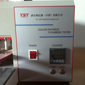 Ultra-Silence Aatcc Electronic Crockmeter-Color Fastness to Rubbing Tester pictures & photos