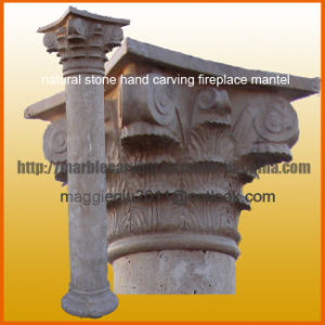 Stone Pillar Marble Column of Hollow Solid Indoor Mc1701 pictures & photos