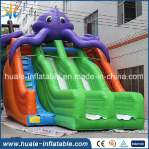 Big Octopus Shape Giant Inflatable Water Slides for Adult
