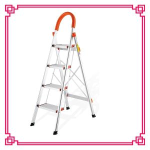 Household Ladder Step Stool with Handrail pictures & photos