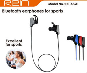 Sport Mobile Phone Accessories Wireless Bluetooth in-Ear Earphone (RBT-686)