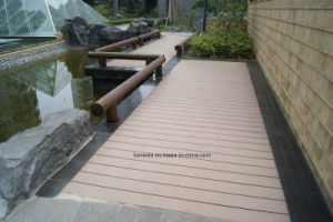 Wood Plastic Composite Decking Project 150*25 pictures & photos