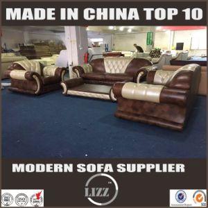 Geniune Cow Leather Sofa Living Room Miami Furniture Set pictures & photos