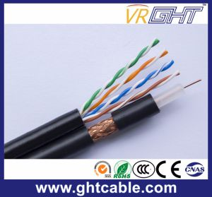Cat5e UTP Cable & RG6 Antenna Cable pictures & photos