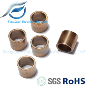 CNC Self-Lubricating Sintered Bronze Bushing/Sleeve