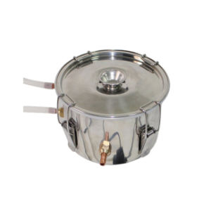 Kingsunshin 8L/2gal Single Condenser Distillation Equipment, for DIY Pure Water/Alcohol/Hydrolat Use Distiller pictures & photos