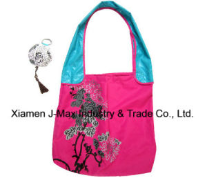 Foldable Gifts Shopper Bag, Flowers Style, Reusable, Lightweight, Grocery Bags and Handy, Promotion, Accessories & Decoration, Tote Bags pictures & photos