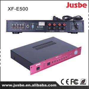 Jusbe Xf-E500 2 Channel 80 Watts Multimedia HiFi Audio Sound System Integrated Amplifier with Cheap Price pictures & photos