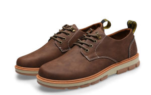 2017 New Fashion Men Casual Shoes PU (G10) pictures & photos