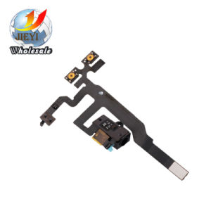Audio Headphone Earphone Volume Socket Jack Flex Cable Ribbon for iPhone 4S pictures & photos