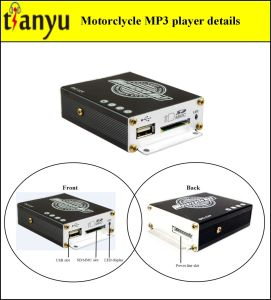 Motorcycle MP3 Audio with Alarm System 908c pictures & photos