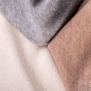 100% Wool Fabrics for Autumn or Winter in White pictures & photos