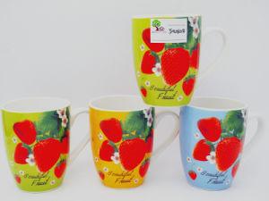 Shiny Colorful 13 Oz Ceramic Milk, Coffee Mug pictures & photos