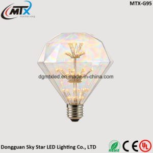 MTX LED bulb Wholesale Diamond, 3W 2200K, Retro LED Filament Light Bulb, pictures & photos