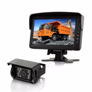 CCTV Digital LCD Car Monitor with Wide Viewing Angle and High Resolution Display pictures & photos