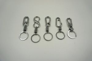 Keychain for Man Simple Key Chain Matel Ring Simple Keychains for Car Keys pictures & photos