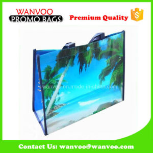 80GSM PP Lamination Nonwoven Promotion Bag with Woven Handle pictures & photos