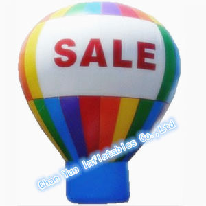 Customized Advertising Inflatable Ground Balloon with Ce Blower pictures & photos