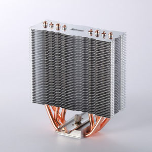 Heat Sink with Aluminum Fins 4PCS Heat Pipe
