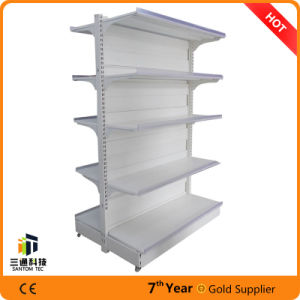 Double Side Steel Supermarket Gondola Bay/Supermarket Steel display Shelving pictures & photos