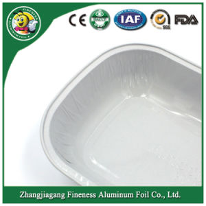Airline Aluminum Foil Container and Lid pictures & photos