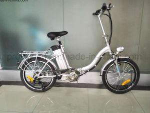 Cheap Electric Folding Bicycle Spz-004 pictures & photos