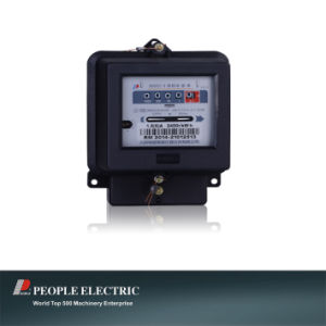 Single Phase Anti-Theft Bi-Directional Kilowatt Hour Meter Energy Meter pictures & photos