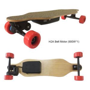 Coolest Belt Motor 4 Wheels Electric Mini Longboard Skateboard