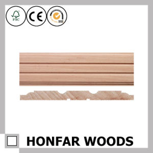 Hotel Construction Decorative Material Wood Skirting Moulding pictures & photos