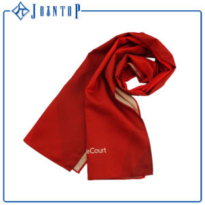 Suitable and Warm Loyester Long Knitted Man Scarf pictures & photos