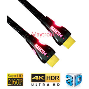 High Speed with Ethernet, 3D, 4k, HDMI Cable pictures & photos