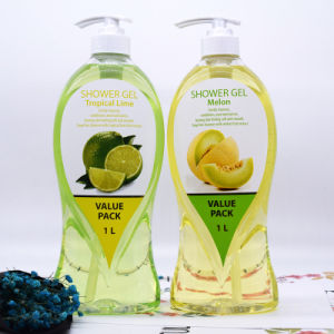 Family Pack Shower Gel Body Wash Melon/Mango/Tropical Lime/Raspberry pictures & photos