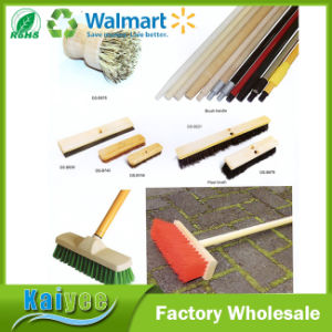 Professional Different Size Multi-Surface Garden Broom Brush with Wood or Plastic pictures & photos