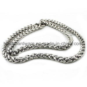 Silver Stainless Steel Twist Rope Chain pictures & photos