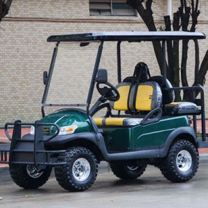 Electric Hunting Golf Cart with Rear Flip Flop Seat pictures & photos