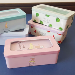 Double-Decked Stationery Tin Case pictures & photos