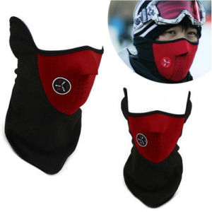 Outdoor 3 Colors Bike Bicycle Ski Protective Face Mask pictures & photos