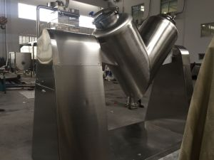 Stainless Steel V Type Blender for Mixing Dry Poweders or Granules pictures & photos