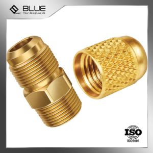 Customized Made Brass Press Nut in Ningbo pictures & photos