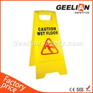 Plastic Safety A Shape Warning Board Caution Board Sign pictures & photos