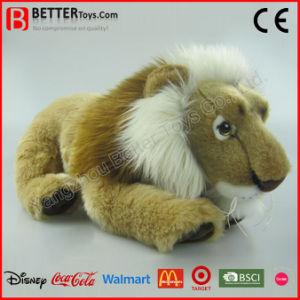 Soft Lifelike Stuffed Animal Plush Toy Lion pictures & photos