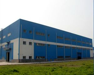 Fabricated Three-Storeys Steel Structure Building for Office or Accommodation