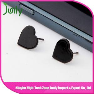 Stud Earrings in Bulk Plastic Stud Heart Earrings pictures & photos