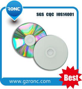 Black CD-R White Inkjet Printable 52X 80min CD-R pictures & photos
