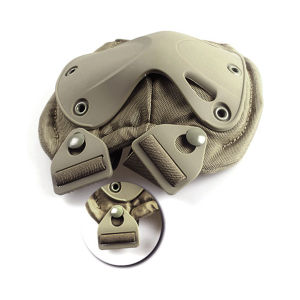 Airsoft Wargame Outdoor Military Gear Safety Protective Knee Elbow Pad pictures & photos