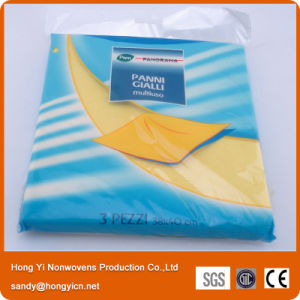 Blue Color Germany Style Nonwoven Fabric Cleaning Cloth, All Purpose Cleaning Cloth