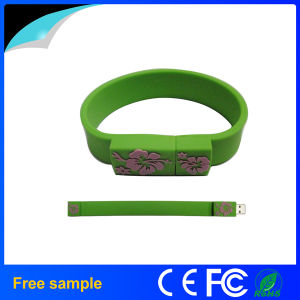 Free Samples Silicone Bracelet 2GB 4GB USB Memory pictures & photos
