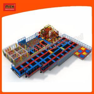 Trampoline Indoor Playground Indoor Trampoline Sports Equipment Amusement Park7119b pictures & photos
